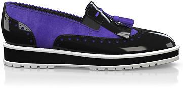 Chaussures à Plateformes à Enfiler 4120