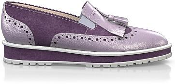 Chaussures à Plateformes à Enfiler 4154
