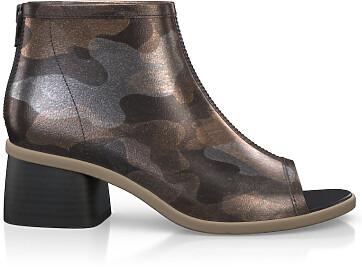 Sandales avec bout ouvert 4887