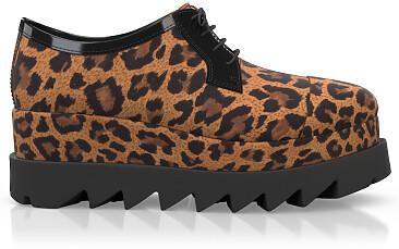 Chaussures Compensées Décontractées 5296