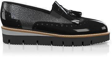 Chaussures à Plateformes à Enfiler 5944