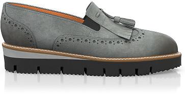 Chaussures à Plateformes à Enfiler 6008
