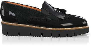 Chaussures à Plateformes à Enfiler 6009