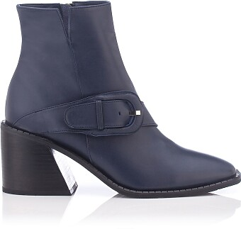 Bottines à boucles Patrizia Bleu Marine