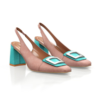 CLASSIC HEELED SHOES 17086