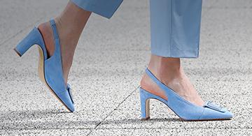 Luxury heeled shoes