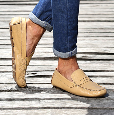 Moccasins and loafers