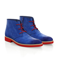 LIGHTWEIGHT MEN`S ANKLE BOOTS 7390